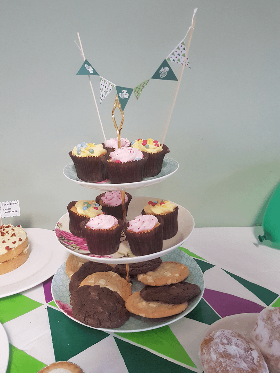 Macmillan coffee morning here at we are the fuel